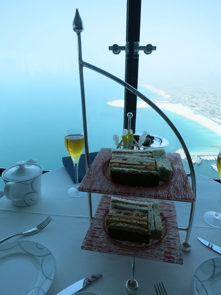 1 day in dubai afternoon tea at the burj al arab miles for Burj al arab reservation