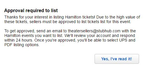 how to sell will call tickets on stubhub