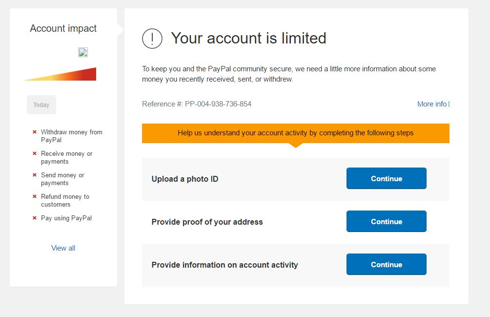 Paypal Shuts Down My Mom S Account For Selling Coins On Ebay Miles Per Day